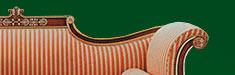 Английская мебель: диван классический